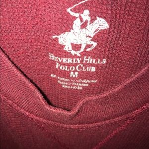 Beverly Hills Polo Club Sweaters - 🌟Red Polo Sweater🌟